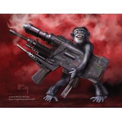 We Need Bigger Guns! Four postcard set