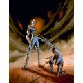 """Zombie Ambush"" Oil Painting"